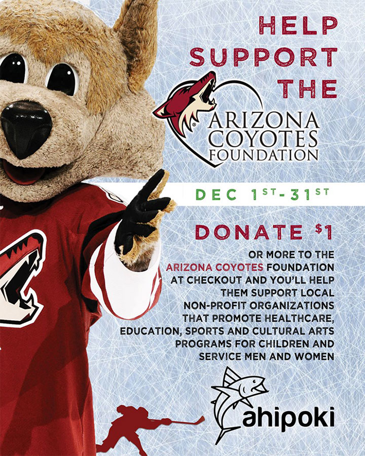 help support the arizona coyotes foundation